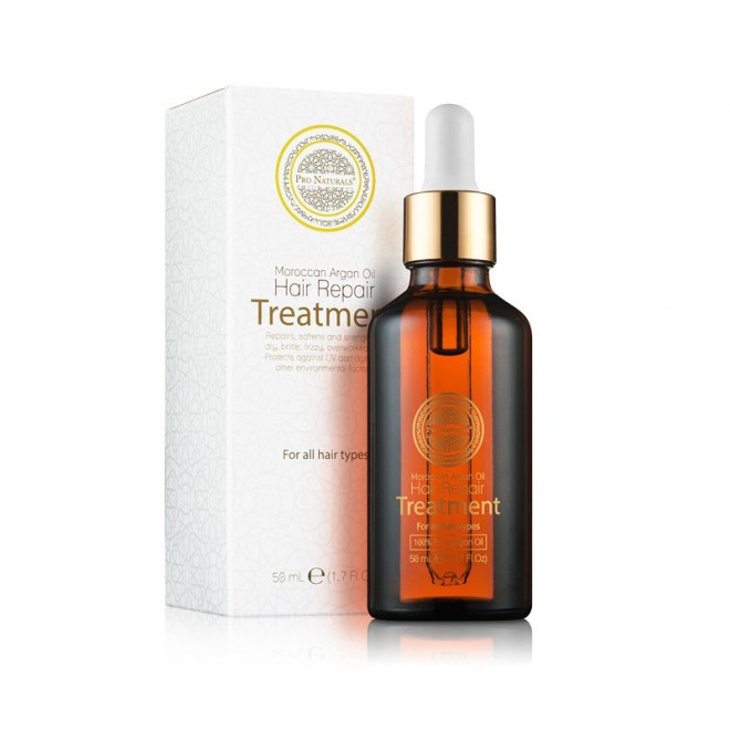 Pro Naturals Moroccan Argan Oil Hair Treatment With Heat Protector