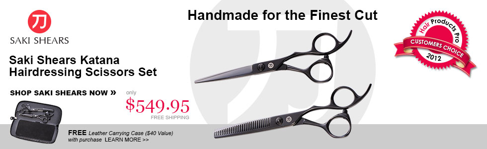 Saki Katana Hairdressing Scissors Set